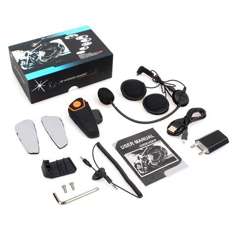 Bluetooth Interphone Helm Motor 1000 Meter Bt S2 Black nieuwe ongebruikte bt s2 bluetooth intercom duoset 2 stuks te koop onderdelen en overig