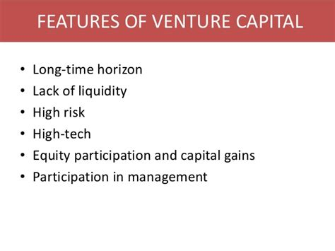 Mba For Venture Capital by What Is Venture Capital Venture Capital In India