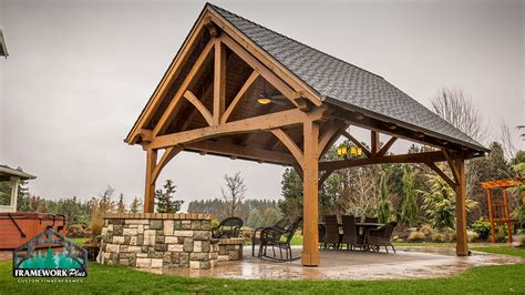 cing pavillon king post truss pavilion kit in boring or framework plus