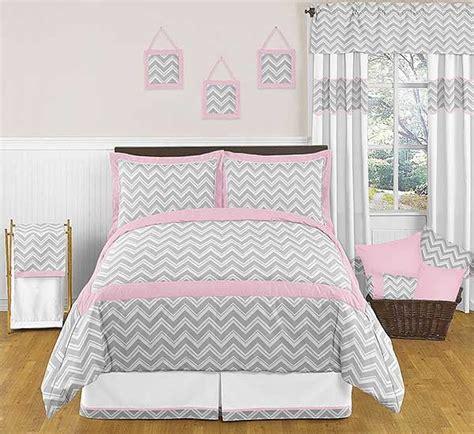 pink chevron bedding zig zag pink gray chevron print bedding set 3 piece