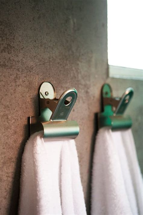 bathroom video clip bulldog clip towel hangers for me to make pinterest