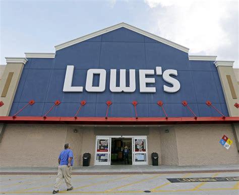 lowe s shares slump on profit report centralmaine com