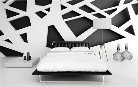 black and white interior design red and black performance in interior decoration