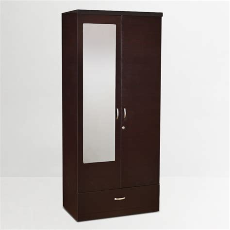 Black Kitchen Canister Buy Utsav Two Door Wardrobe With Mirror In Wenge Finish