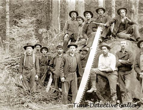 group  loggers pacific northwest circa