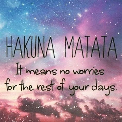 Hakuna Matata Pictures, Photos, and Images for Facebook