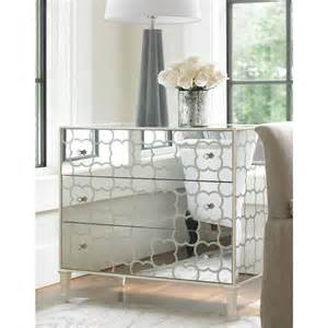 shilo mirrored bedside table