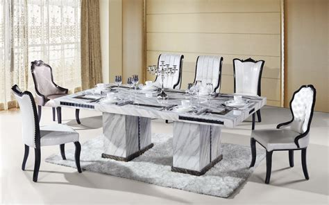 marble table dining room sets dining room amazing dinning table sets glass dining