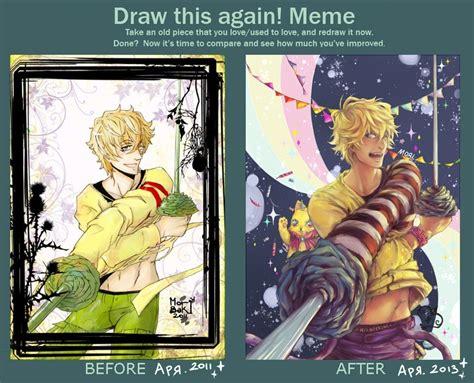 Draw This Again Meme Blank - draw this again meme 2 by moritatsubaki on deviantart