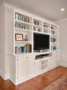 prefabricated bookcases look like built ins white built in custom entertainment center for the home