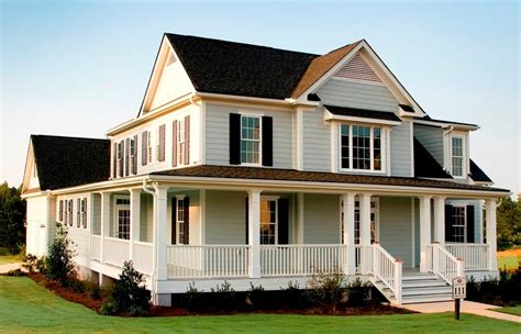 country style house with wrap around porch modular homes with wrap around porches 187 homes photo gallery