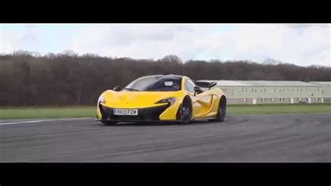 Mclaren P1 Track by Mclaren P1 Laped Against Top Gear Test Track