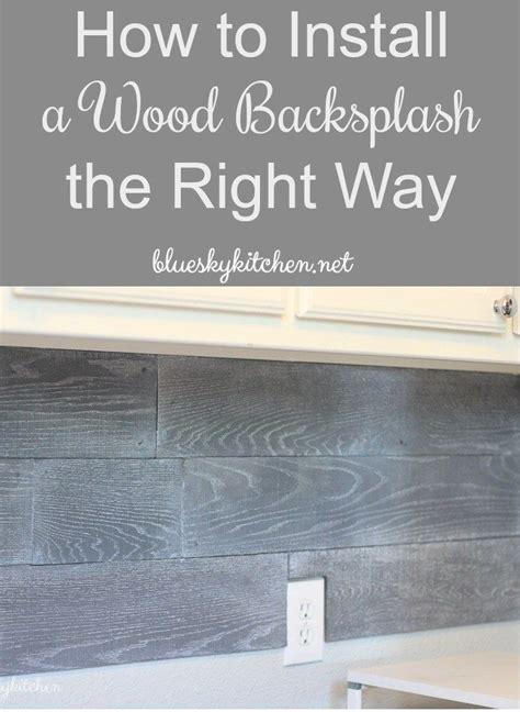 25 best ideas about wood backsplash on pallet