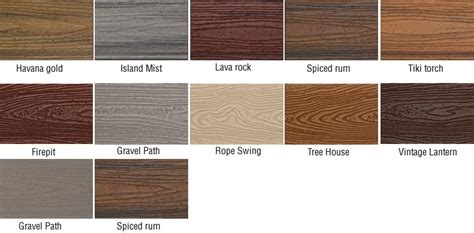 trex colors trex decking wood products denver specialty wood