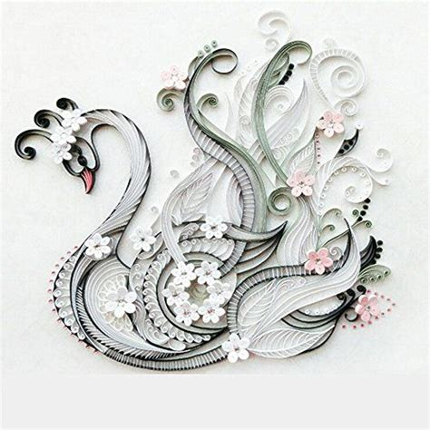 quilling swan tutorial 34 best quilling images on pinterest paper quilling