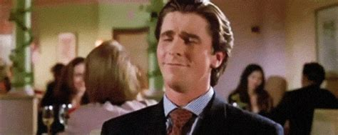 christian bale business card my workout routine as told by american psycho gifs