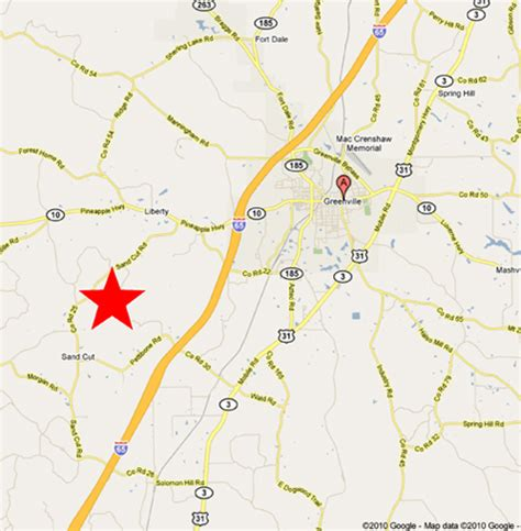 where is greenville alabama on the map time farm day greenville alabama