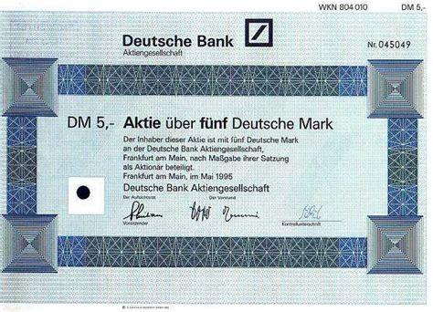 deutsche bank aktienkurs aktuell aktie aktienhandelsplattform