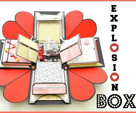 explosion box tutorial tagalog how to make an explosion box diy paper crafts