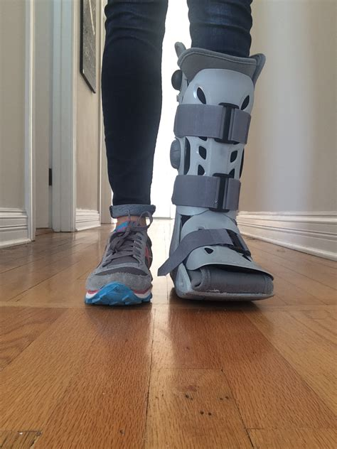 foot stress fracture boot recovering from a stress fracture my experience a guide