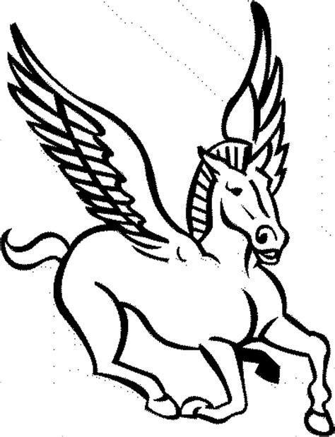 pegasus coloring pages coloring pages of pegasus coloring home