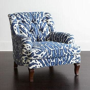 blue animal print chair navy blue and white accent chairs torahenfamilia in chair