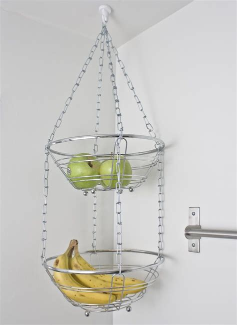 Easy Kitchen Design our new obsession hanging fruit baskets