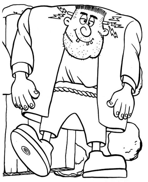 frankenstein coloring pages frankenstein coloring page az pages sketch coloring page