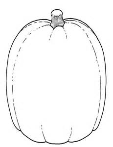 pumpkin templates free coloring pages of pumpkin shape