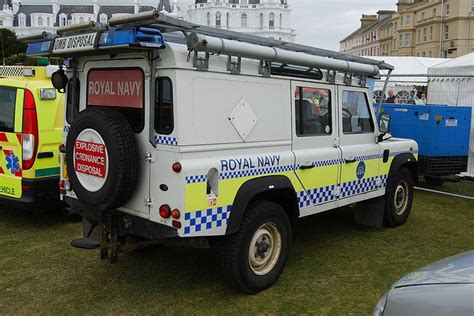 navy land rover royal navy bomb disposal land rovers then the rest