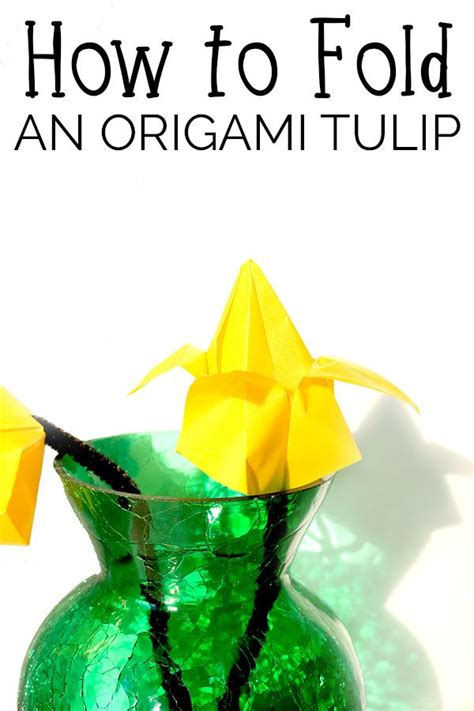 How To Fold A Paper Tulip - 17 best images about kid s crafts on