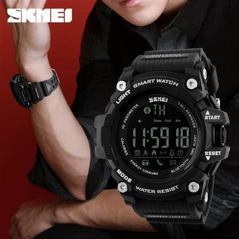 Jam Smartwatch Samsung Skmei Jam Tangan Olahraga Smartwatch Bluetooth Dg1227 Bl Black Jakartanotebook