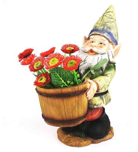 Gnome Planter by Green Girgit Big Gnome Planter By Green Girgit
