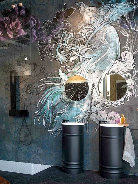 bathroom wall mural ideas 25 best ideas about bathroom mural on murals