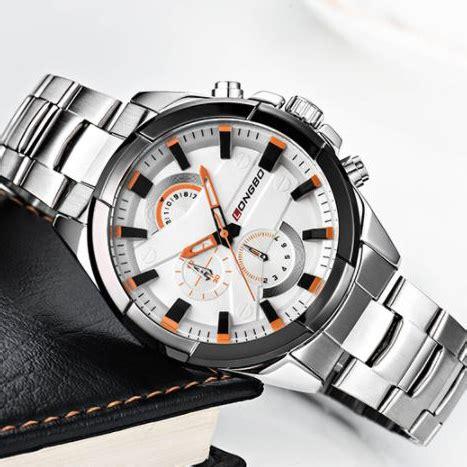 Jam Tangan Pria Sport Df26 longbo jam tangan pria sport waterproof 80242 b02