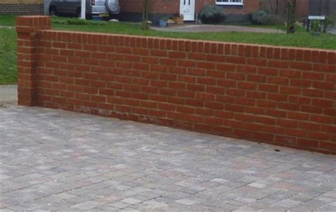 types of bricks for garden walls walling claymore paving