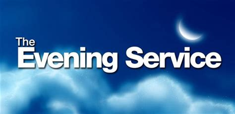 saturday night church services