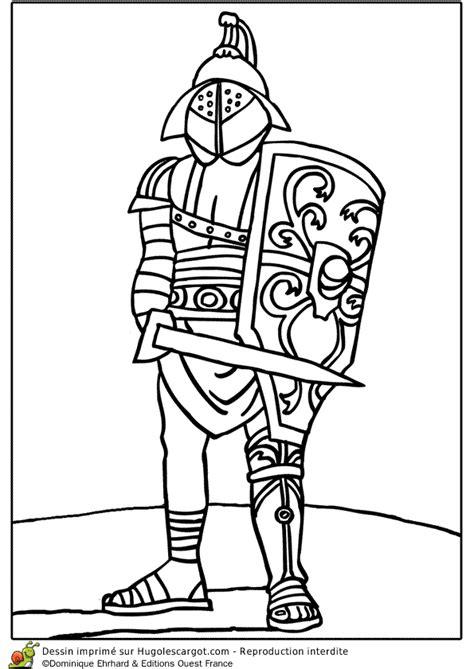 Coloriage Le Gladiateur Romain Dans L Ar 232 Ne Coloriage Divers A Imprimer Gratuit L