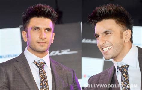 hairstyie of rainveer kapoor ranveer singh sports a funky hairdo before going bald for