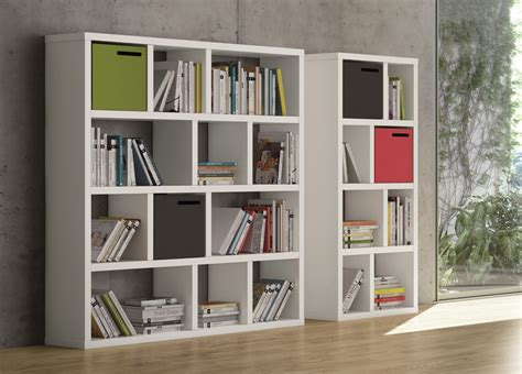 contemporary bookshelves caixa contemporary bookcase modern bookcases
