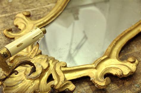 applique antiquariato 4 appliques dorate antiquariato su anticoantico