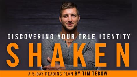 shaken discovering your true identity in the midst of s storms books november featured plans tim tebow chris tomlin time of
