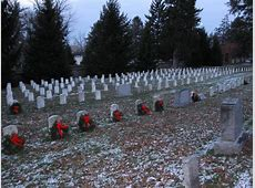 Gettysburg National Cemetery Christmas Wreaths ... Eisenhower
