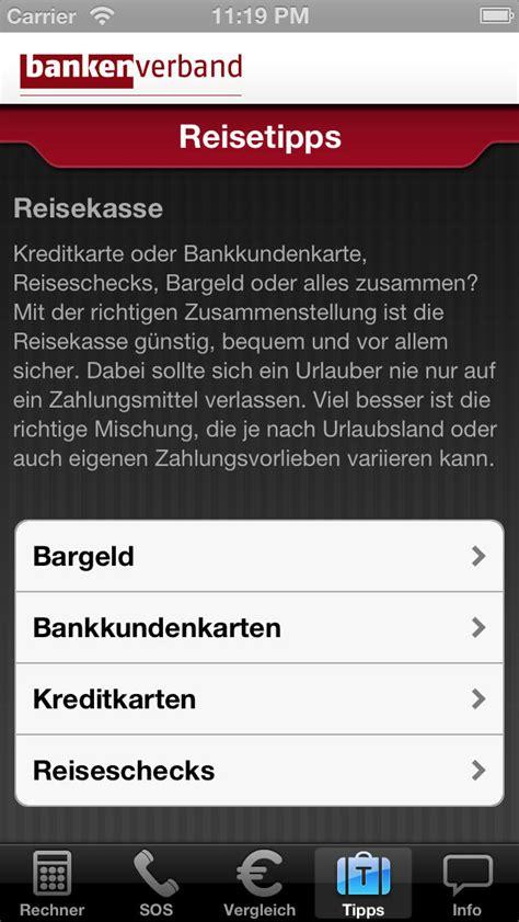 liste deutscher banken reise geld w 228 hrungsrechner und finanzratgeber iphone
