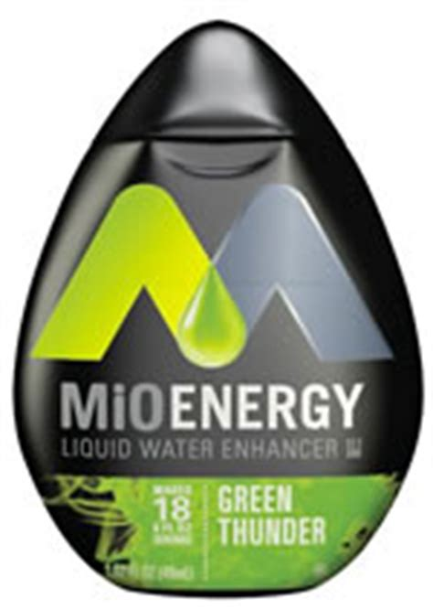 Caffeine in MiO Energy Water Enhancer