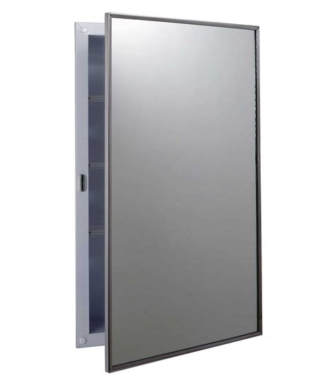 bathroom medicine cabinets no mirror bobrick b 397 medicine thebuilderssupply com
