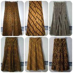 Kulot Batik batik kulot fashion