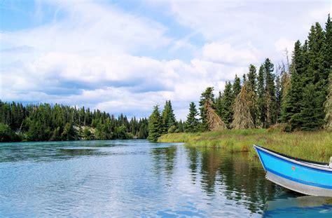 alaska river fishing boat kenai river fishing boat 183 free photo on pixabay