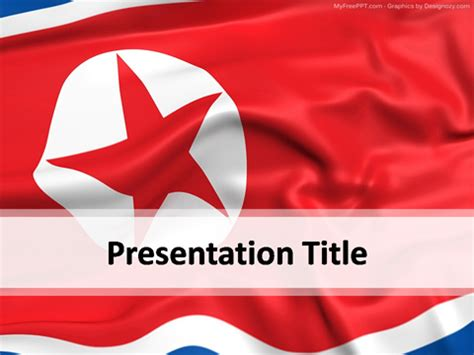theme powerpoint korean north korea powerpoint template download free powerpoint ppt