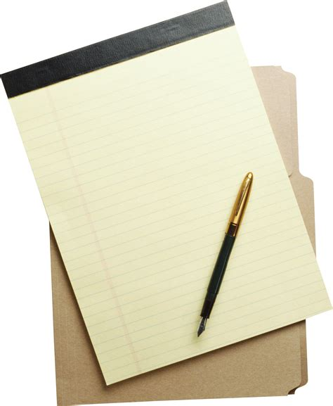 With Paper - paper sheet png images free paper png